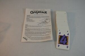 Vintage Card Attack Game Parker Brother Replacement 84 Cards and Directions