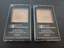 Revlon PhotoReady Compact Makeup - CARAMEL  #400 - TWO - Both New & Sealed