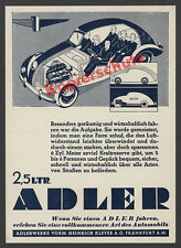 Bernd reuters voiture Aigle 2,5 L électricité ligne technique ART DECO Kleyer Francfort 1938