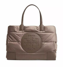 Gorgeous! Tory Burch Ella Puffer Tote Shoulder Bag Quilted Nylon Bag NWT Husky💕