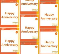 Funny SAINSBURYS HAPPY ANNIVERSARY Wrapping Paper A1, A2 or A3 - party, joke