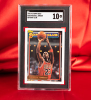 SGC 10 1992 Topps GOLD MICHAEL JORDAN 50 Point Club POP 1 GEM MINT - PSA BGS