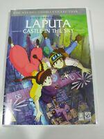 Laputa Castle IN The Sky Hayao Miyazaki Studio Ghibli DVD Inglese Japanese Reg 2