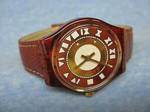 Men's 1993 SWATCH Water Resistant Musical Swiss Watch w/ New Battery