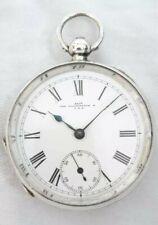 Waltham Pocket watch Farringdon Gents Solid Silver 7J. (FULL W. ORDER) *1892*