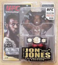 "UFC Ultimate Collector Jon ""Bones"" Jones Championship Edition Official Figurine"