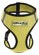 Pet Control Harness X-Large Dog Cat Soft Yellow Mesh Walk Collar Safe Strap Vest