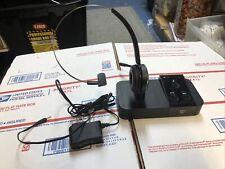 Jabra Pro 9400HS Wireless Headset Bundled w/ 9400BS Base Station Used