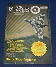 AIR FORCES INTERNATIONAL MAGAZINE NOVEMBER 1989 - S-3A VIKING