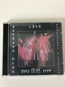 DEPECHE MODE Live Do-Cd Devotional Tour 1993-94
