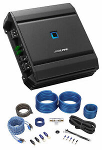 ALPINE S-A60M 600 Watt RMS Mono Car Audio Amplifier Subwoofer Class-D+Amp Kit