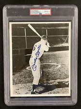 Mickey Mantle Signed Photo 8x10 Baseball Autograph NY Yankees Gem Mt 10 PSA/DNA