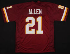 Terry Allen Signed Washington Redskins jersey (Beckett COA) NFL Free Shipping