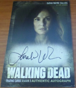 The Walking Dead A12 Lori Grimes Auto Autograph Trading Card Season 3