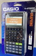 Casio fx-9750Giii Black Graphing Calculator New