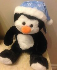 Animal Alley Plush Stuffed Christmas White Soft Pengutn Doll 16""