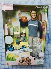 2003 Happy Family Alan & Ryan RARE Jeep Ken Barbie Doll Set Mattel B5753 NRFB
