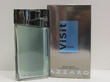 Azzaro Visit by Azzaro For Men 3.4 oz Eau de Toilette Spray New In Box