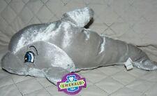 "Emerald Toy Dolphin Soft Plush 15"""