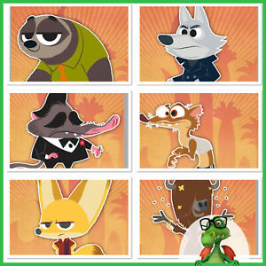 Disney Collect Topps Digital Zootopia - WishCaster Cards NO award