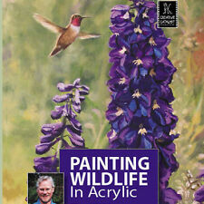 NEW DVD: PAINTING WILDLIFE IN ACRYLIC WITH TERRY ISAAC