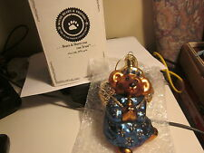 Boyds Bears Glass Ornament-retired-celeste- Angel-Limited Edition-New In Box