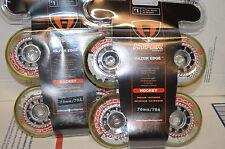 HYPER Razor Edge inline  wheels  8-76mm  786a  labeda, revision, rinkrat