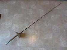 Vintage French Fencing Sword > Antique Old Swords Fight Mask Weapon RARE 7981
