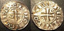 Louis IV d'Outremer - denier de l'évéché de Langres (52) 1150-1200 - Bd#1723