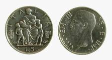 pci3960) Regno Vittorio Emanuele III (1900-1943) 5 lire  Fecondità 1936