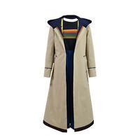 thirteenth Doctor Who Jodie Whittaker Cosplay Costume Women Trench Coat Full Set