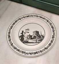 Antique French Creamware Transfer Printed Plate Stone, Coquerel & Le Gros, Paris