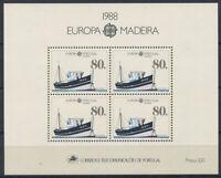 Portugal Madeira 1988 Mi. Bl. 9 Block 100% Postfrisch EUROPA CEPT