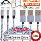 MFI Certified Apple Lightning Data Sync Cable Charger iPhone X 6 6s 7 Plus 5 Lot
