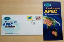 1998 Malaysia APEC Conference 2v Stamps FDC (Kuala Lumpur Cachet)