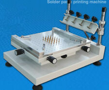 High Precision Manual PCB Screen Press Precise Stencil Solder Printing Machine