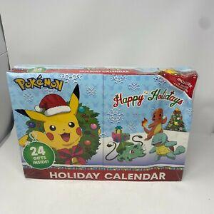 Pokemon Happy Holidays 2020 Advent Christmas Calendar Sealed - dented box