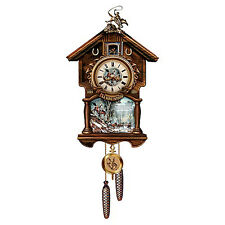 The Man From Snowy River Wall Clock