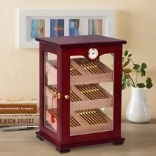Countertop Display Humidor 150 Cigars Storage Cabinet Humidifier Hygrometer New
