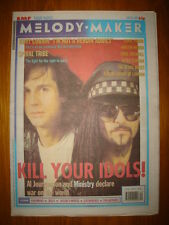 MELODY MAKER 1992 JUL 25 MINISTRY SONIC YOUTH ROSES
