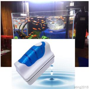 Aquarium Sauberer Doppelseitiger Glas Reiniger Schwimmende Magnet Reinigung
