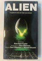 1979 ALIEN  RIDLEY SCOTT PBO 1st Edition MOVIE TIE IN ALAND DEAN FOSTER 001
