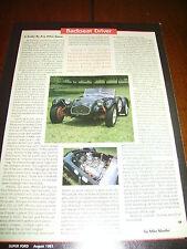 ALLARD J2 SPORTS CAR ***ORIGINAL 1993 ARTICLE***