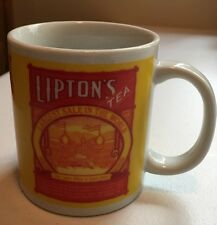 Thomas Lipton Tea Bag Coffee Mug Cup Tea Planter Vintage