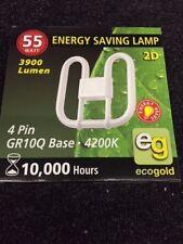 2D 55W GR10Q base 4200K Branded Item (Box of 5 = £18.75) Just £3.75p each