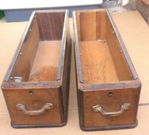 Treadle Sewing Machine Table Drawer x 2