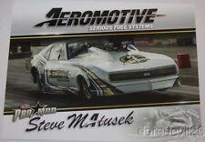 2016 Steve Matusek Aeromotive Chevy Camaro Pro Mod NHRA postcard