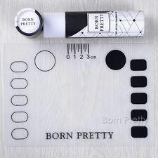 1Pc BORN PRETTY Nail Art Stamping Mat 21*15cm Foldable Pad with Box Tools