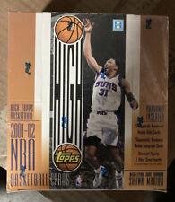 2001/02 Topps High Topps Basketball Hobby Box RARE  Rookie Signatures JORDAN