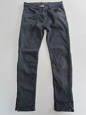 Girls JOHN LEWIS Stretch Skinny Canvas Jeans Dark Grey/Blue age 11yrs